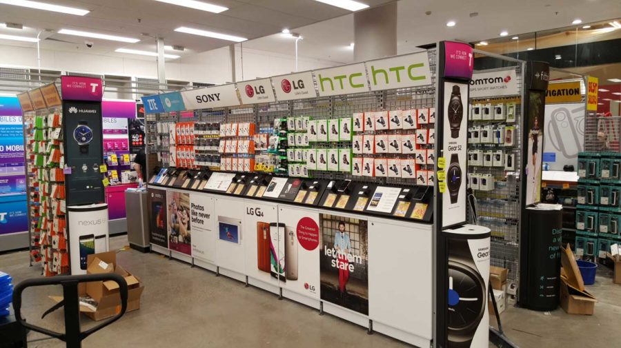 POS Display Units, for JB-HI-FI