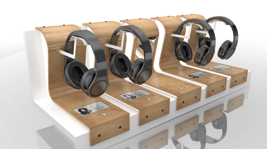 Headphone Display