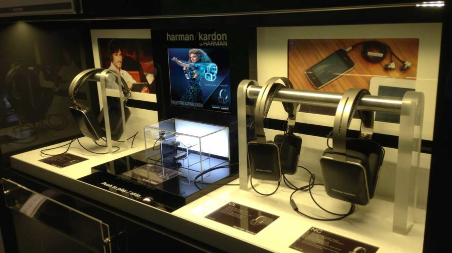 Harman Kardon Interactive Displays