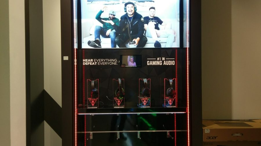 Turtle Beach Gaming Headphone Display, for Harvey Norman