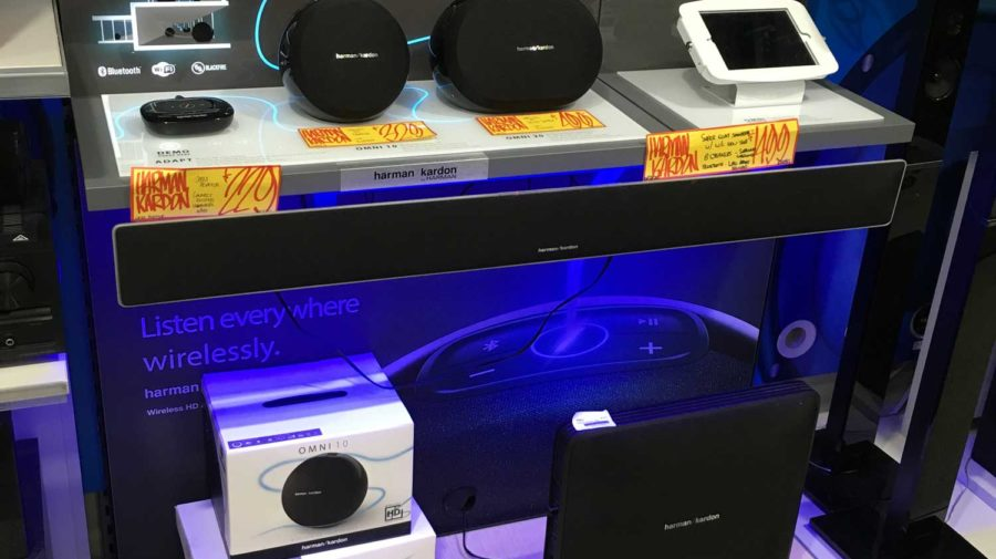 OMNI Interactive Speaker Display, for JB-HI-FI