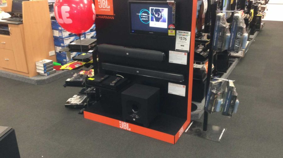 JBL Sound Bar Display, for Harvey Norman