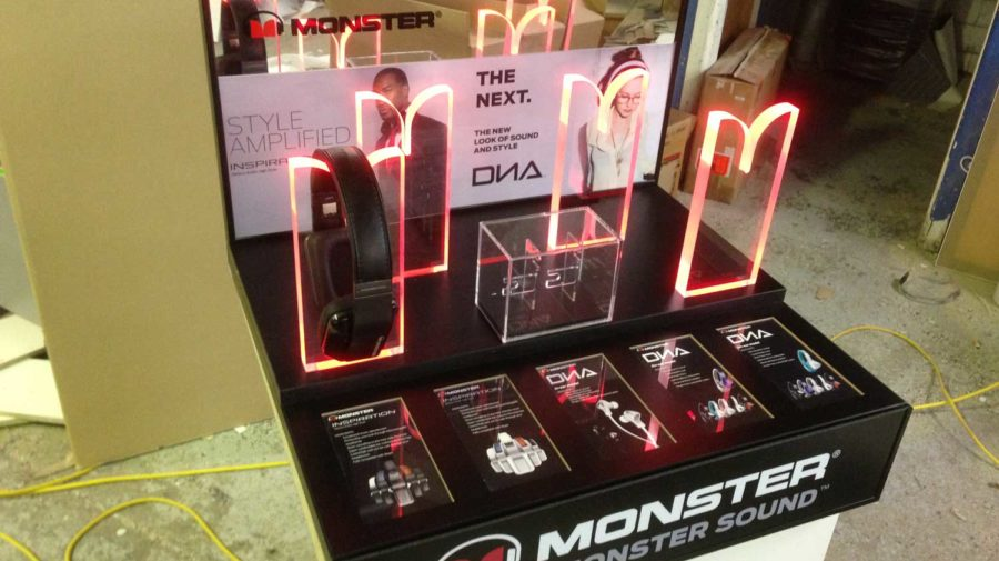 Monster Interactive Display, for New Zealand