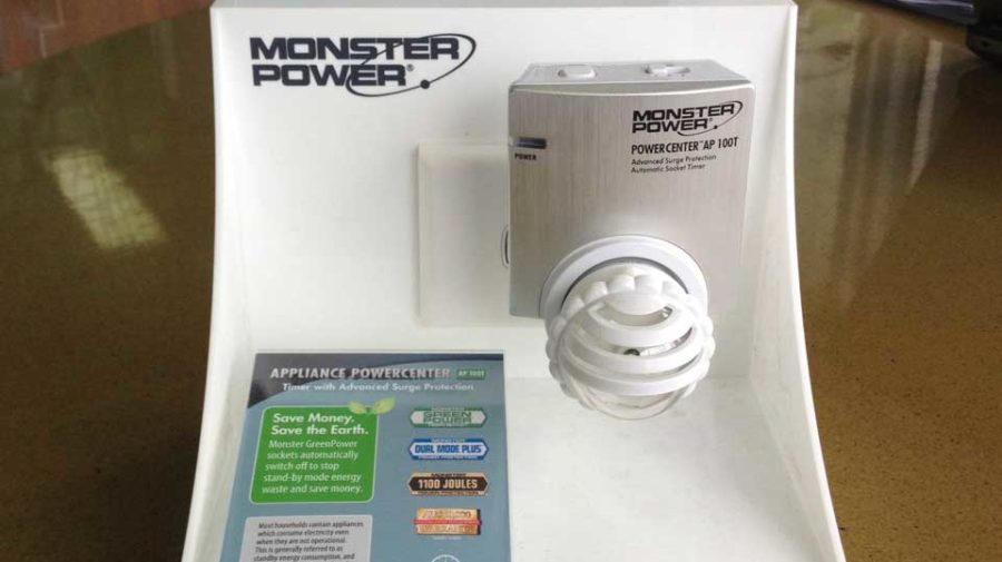 Monster Acrylic POS Display