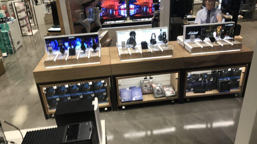 Headphone Displays, Harvey Norman