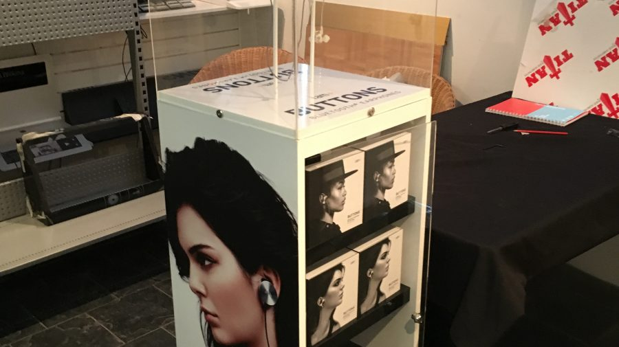 Will.I.AM In-ear Display Plinths, for Harvey Norman
