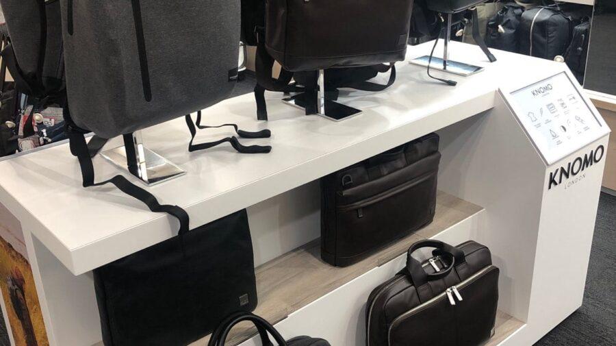 Knomo Bag & Backpack Display