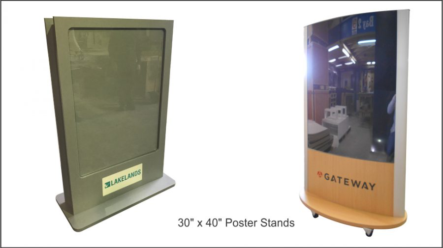 """30"""" x 40"""" Poster Stands"""