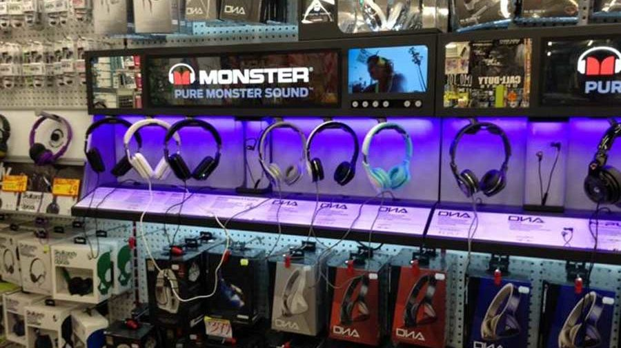 Monster Interactive Headphone Display, for JB-HI-FI