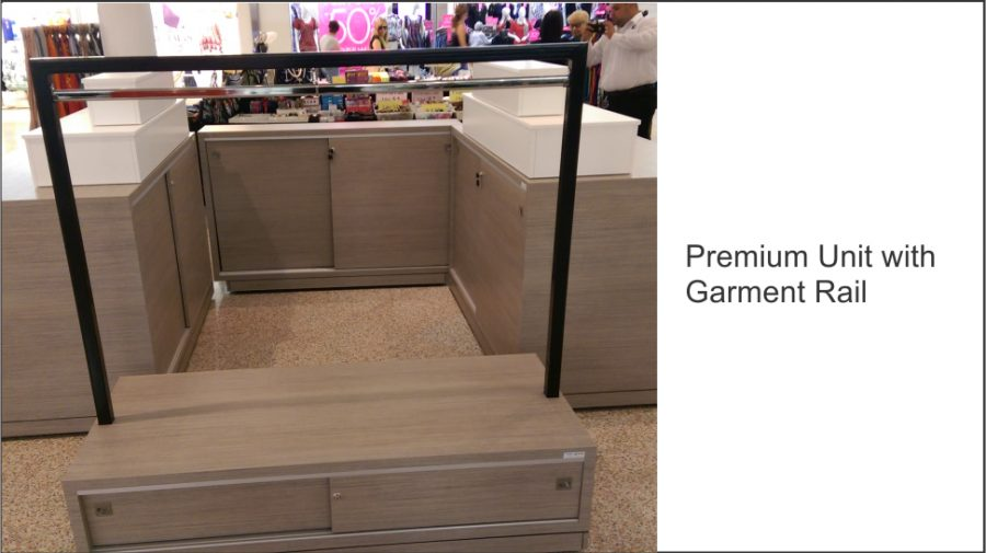 Premium Unit with Garment Rail